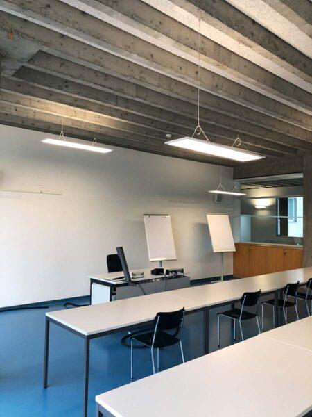 AAL Schulungszimmer Beleuchtung