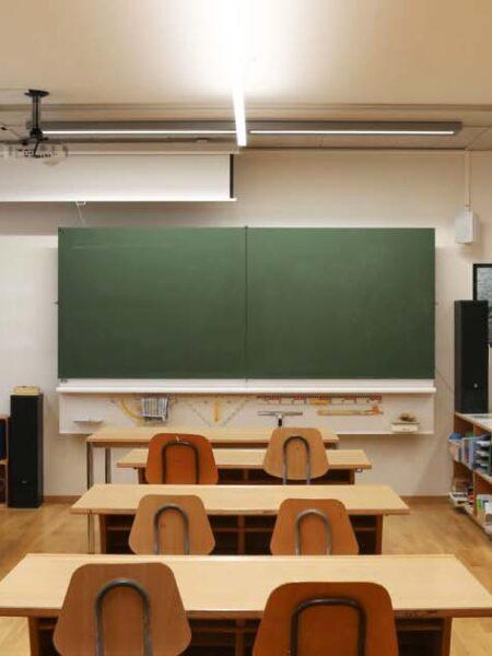 Schule Kerns, Klassenzimmer Beleuchtung